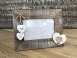 Shabby personalised Chic Photo Frame Auntie Aunty Great Aunt Gift  Present - 253402782934